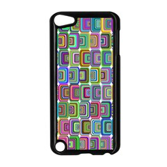 Psychedelic 70 S 1970 S Abstract Apple Ipod Touch 5 Case (black) by Nexatart
