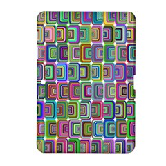Psychedelic 70 S 1970 S Abstract Samsung Galaxy Tab 2 (10 1 ) P5100 Hardshell Case  by Nexatart