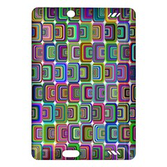 Psychedelic 70 S 1970 S Abstract Amazon Kindle Fire Hd (2013) Hardshell Case
