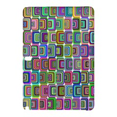 Psychedelic 70 S 1970 S Abstract Samsung Galaxy Tab Pro 10 1 Hardshell Case