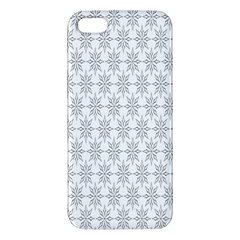 Ornamental Decorative Floral Apple Iphone 5 Premium Hardshell Case by Nexatart