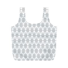 Ornamental Decorative Floral Full Print Recycle Bags (m)  by Nexatart