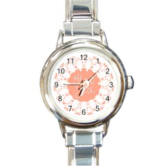 Mandala I Love You Round Italian Charm Watch