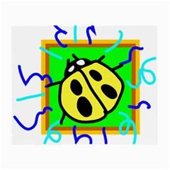 Insect Ladybug Small Glasses Cloth