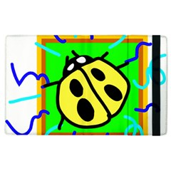 Insect Ladybug Apple Ipad 3/4 Flip Case
