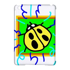 Insect Ladybug Apple Ipad Mini Hardshell Case (compatible With Smart Cover)