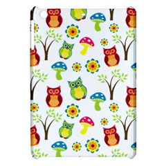 Cute Owl Wallpaper Pattern Apple Ipad Mini Hardshell Case