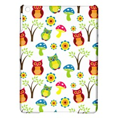 Cute Owl Wallpaper Pattern Ipad Air Hardshell Cases