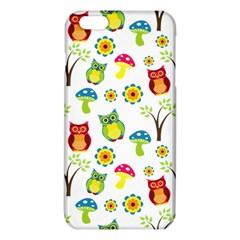 Cute Owl Wallpaper Pattern Iphone 6 Plus/6s Plus Tpu Case by Nexatart