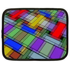 Abstract Background Pattern Netbook Case (xl)