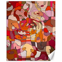 Abstract Abstraction Pattern Modern Canvas 16  X 20