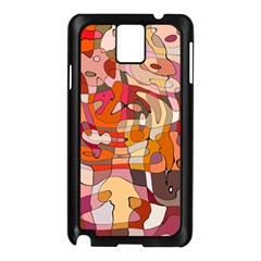 Abstract Abstraction Pattern Modern Samsung Galaxy Note 3 N9005 Case (black)