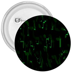 Abstract Art Background Green 3  Buttons