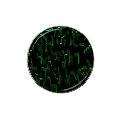 Abstract Art Background Green Hat Clip Ball Marker