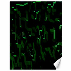 Abstract Art Background Green Canvas 36  X 48   by Nexatart