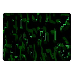 Abstract Art Background Green Samsung Galaxy Tab 10 1  P7500 Flip Case by Nexatart