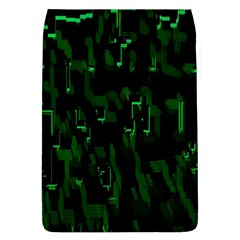 Abstract Art Background Green Flap Covers (l)