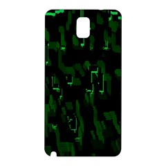 Abstract Art Background Green Samsung Galaxy Note 3 N9005 Hardshell Back Case