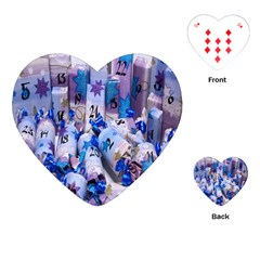 Advent Calendar Gifts Playing Cards (heart)