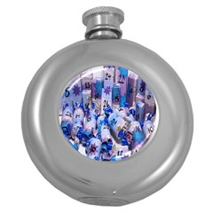 Advent Calendar Gifts Round Hip Flask (5 Oz)