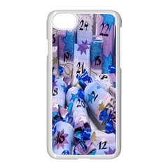 Advent Calendar Gifts Apple Iphone 7 Seamless Case (white) by Nexatart