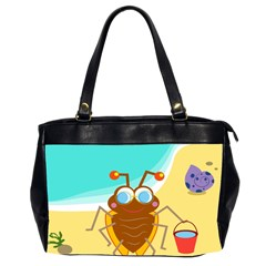 Animal Nature Cartoon Bug Insect Office Handbags (2 Sides)  by Nexatart