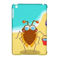 Animal Nature Cartoon Bug Insect Apple Ipad Mini Hardshell Case (compatible With Smart Cover)