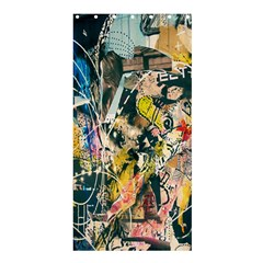 Art Graffiti Abstract Lines Shower Curtain 36  X 72  (stall)
