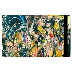 Art Graffiti Abstract Lines Apple Ipad 3/4 Flip Case by Nexatart