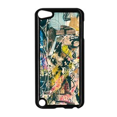 Art Graffiti Abstract Lines Apple Ipod Touch 5 Case (black)
