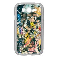 Art Graffiti Abstract Lines Samsung Galaxy Grand Duos I9082 Case (white)