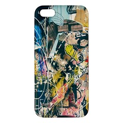 Art Graffiti Abstract Lines Iphone 5s/ Se Premium Hardshell Case