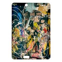 Art Graffiti Abstract Lines Amazon Kindle Fire Hd (2013) Hardshell Case
