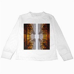 Architecture Facade Buildings Windows Kids Long Sleeve T Shirts