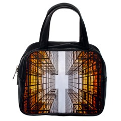 Architecture Facade Buildings Windows Classic Handbags (one Side)