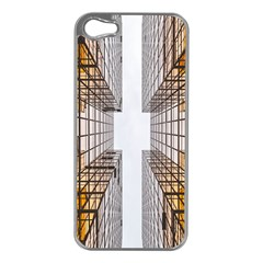 Architecture Facade Buildings Windows Apple Iphone 5 Case (silver)