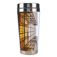 Architecture Facade Buildings Windows Stainless Steel Travel Tumblers