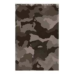 Background For Scrapbooking Or Other Camouflage Patterns Beige And Brown Shower Curtain 48  X 72  (small)  by Nexatart