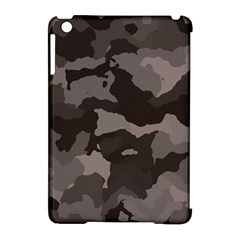 Background For Scrapbooking Or Other Camouflage Patterns Beige And Brown Apple Ipad Mini Hardshell Case (compatible With Smart Cover)