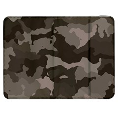 Background For Scrapbooking Or Other Camouflage Patterns Beige And Brown Samsung Galaxy Tab 7  P1000 Flip Case