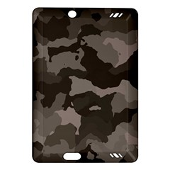 Background For Scrapbooking Or Other Camouflage Patterns Beige And Brown Amazon Kindle Fire Hd (2013) Hardshell Case