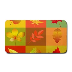 Autumn Leaves Colorful Fall Foliage Medium Bar Mats by Nexatart
