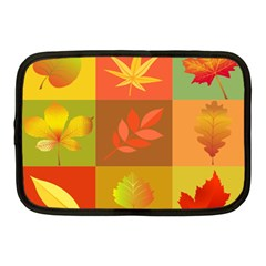 Autumn Leaves Colorful Fall Foliage Netbook Case (medium)  by Nexatart