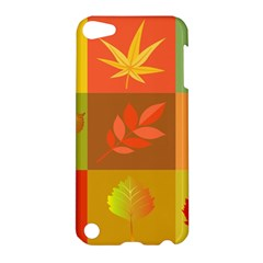 Autumn Leaves Colorful Fall Foliage Apple Ipod Touch 5 Hardshell Case by Nexatart