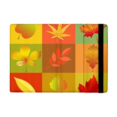 Autumn Leaves Colorful Fall Foliage Apple Ipad Mini Flip Case by Nexatart
