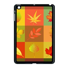 Autumn Leaves Colorful Fall Foliage Apple Ipad Mini Case (black) by Nexatart