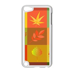 Autumn Leaves Colorful Fall Foliage Apple Ipod Touch 5 Case (white) by Nexatart