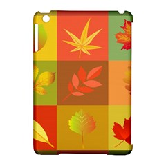 Autumn Leaves Colorful Fall Foliage Apple Ipad Mini Hardshell Case (compatible With Smart Cover) by Nexatart