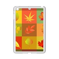 Autumn Leaves Colorful Fall Foliage Ipad Mini 2 Enamel Coated Cases