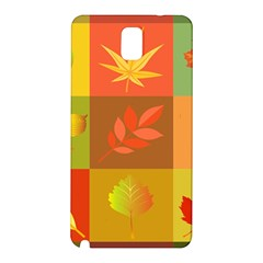 Autumn Leaves Colorful Fall Foliage Samsung Galaxy Note 3 N9005 Hardshell Back Case by Nexatart